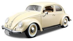 volkswagen car beetle burago 1955 volkswagen beetle diecast model car beige