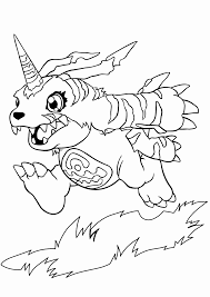 digimon coloring coloring pages digimon