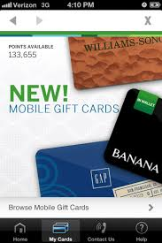 mobile gift cards american express membership rewards launches mobile gift cards