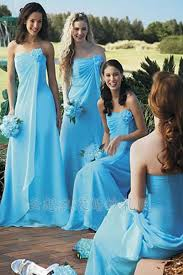 Wedding Dresses Light Blue Romantic Light Blue Bridesmaid Dresses Cherry Marry