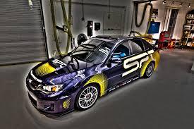 subaru sti 2011 custom subaru shows off custom classic and racing cars at 2011 sema