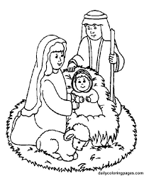 nativity characters free printouts nativity scene bible coloring