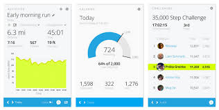 fitness tracker app for android garmin vivofit fitness band tracks activity sleep calories and