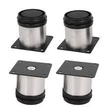 kitchen base cabinet adjustable legs stainless steel leg metal adjustable kitchen cabinet stand base 4 pcs walmart