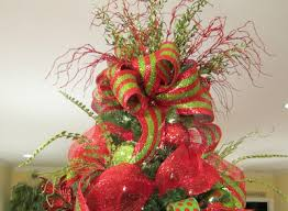tree toppers for christmas trees deco mesh christmas tree ladybug wreaths by nancy