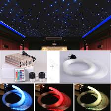 Home Theater Ceiling Lighting High Power 32w Fiber Optical Ceiling Light For Home Theater