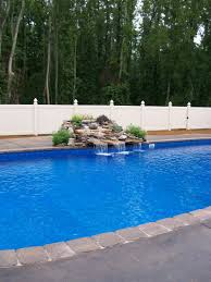rock waterfalls for pools water features