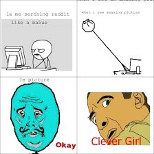 Rage Girl Meme - clever girl rage comic 8 clever girl know your meme