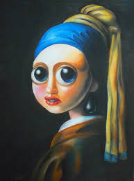 painting of the girl with the pearl earring girl with the pearl earring painting analysis