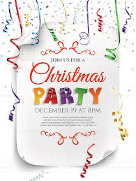 christmas party poster template stock vector art 625441376 istock