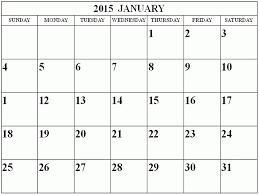 calendar template 2015 ebook