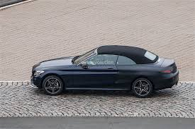 convertible mercedes 2017 2017 mercedes benz c class cabrio goes top down in the winter