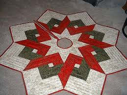 Quilted Christmas Tree Skirts To Make - 103 best christmas tree skirts images on pinterest christmas