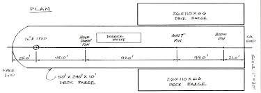 Barge Draft Tables Barges Deck Hopper Spud And Tank