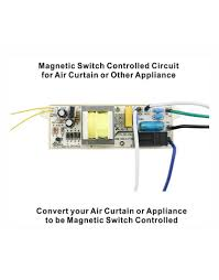 awoco magnetic switch controlled circuit 120v 15a shutoff delay