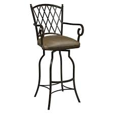furniture wonderful collection of swivel bar stools with arms