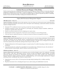 Creative Bartender Resume Template Restaurant Manager Sample Resume Resume For Your Job Application