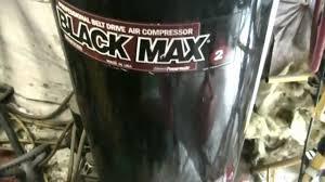 operation new air compressor part 1 rip 2001 black max youtube