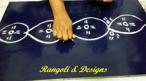 pooja room easy border free hand rangoli and designs youtube