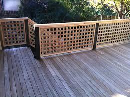 home decor lattice deck railing ideas satellite crepes