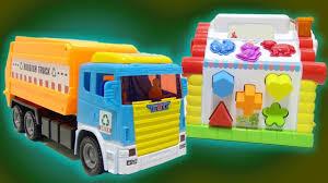 garbage trucks for children trash truck videos rubbish trucks