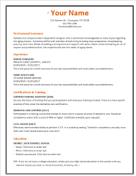 Caregiver For Elderly Resume Caregiver Resume Example And Get Ideas To Create Your Resume With