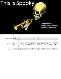 spooky skeleton png this is spooky spooky scary skeletons this is halloween musescore