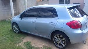 toyota auris suv 2009 toyota auris for sale in montego bay jamaica for 1 350 000