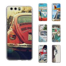 volkswagen van transparent retro summer volkswagen bus beach art style thin transparent phone