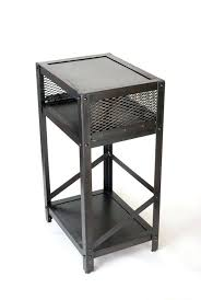round industrial side table industrial side table industrial side table industrial style side