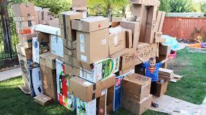 world u0027s biggest box fort youtube