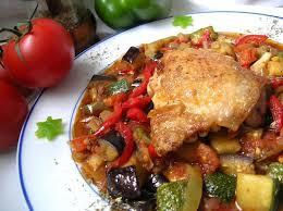 cuisiner la ratatouille recette de poulet en ratatouille la recette facile