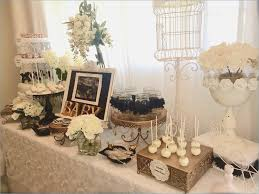 shabby chic baby shower decorations black and white shabby chic baby shower dessert table baby
