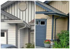 home exterior painted with benjamin moore paint colours capilano