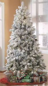 shop online for this stylish 6 5 foot flocked white spruce