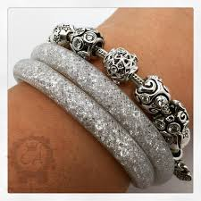 swarovski white bracelet images Swarovski stardust bracelets charms addict jpg