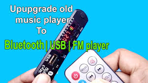 how to convert old music player to bluetooth speaker youtube