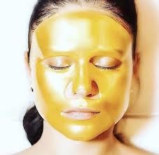 the gold mask boho vibe