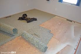 how to install carpet yourself