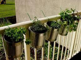 garden ideas balcony herb garden metal hanging herb garden ideas