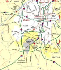 map of atlanta metro area road map of atlanta metropolitan area highways atlanta