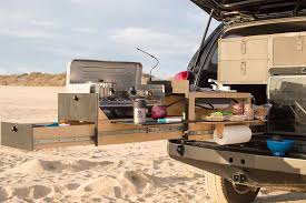 overland jeep kitchen slide out truck kitchen for overland vehicles
