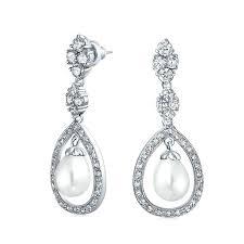 Vintage Pearl Chandelier Earrings Pearl Chandelier Earrings U2013 Edrex Co