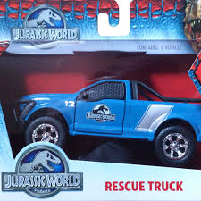 jurassic park car toy jurassic world 2015 jurassic park 4 jada toys rescue truck ford