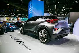 toyota chr new toyota c hr concept brings the prius crossover closer to
