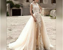 wedding dress colors wedding dresses etsy