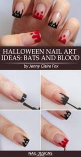 5 super easy halloween nail art ideas naildesignsjournal com