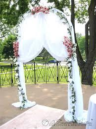 7 5 ft metal tall arch wedding garden bridal party brilliant