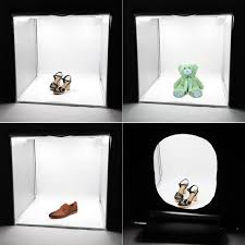 40 x 40 cm popular square led photography lights boxes for