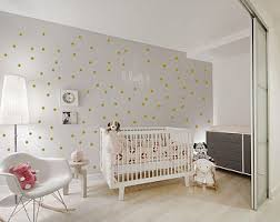 Decor Nursery Gold Wall Decals Etsy